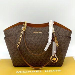 Michael Kors JST LG Chain Shoulder Tote